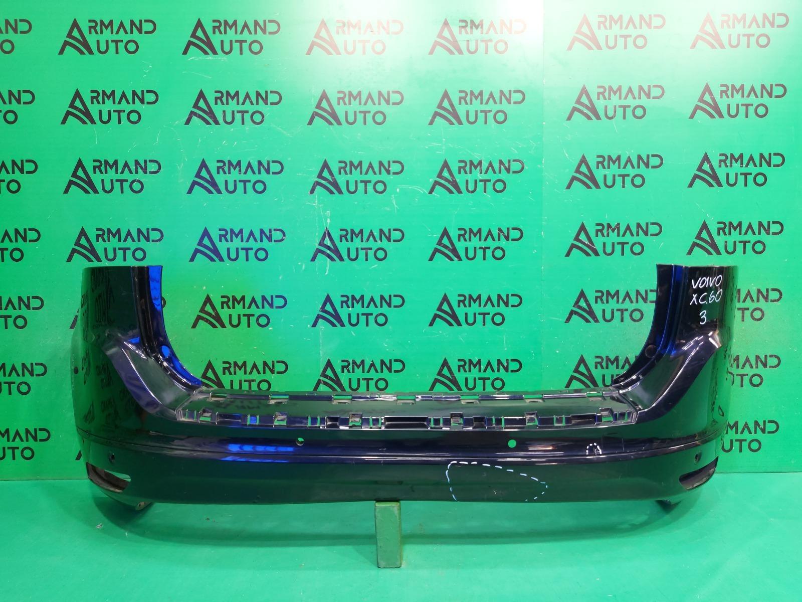 Бампер Volvo Xc60 1 РЕСТАЙЛИНГ 2013 задний (б/у)