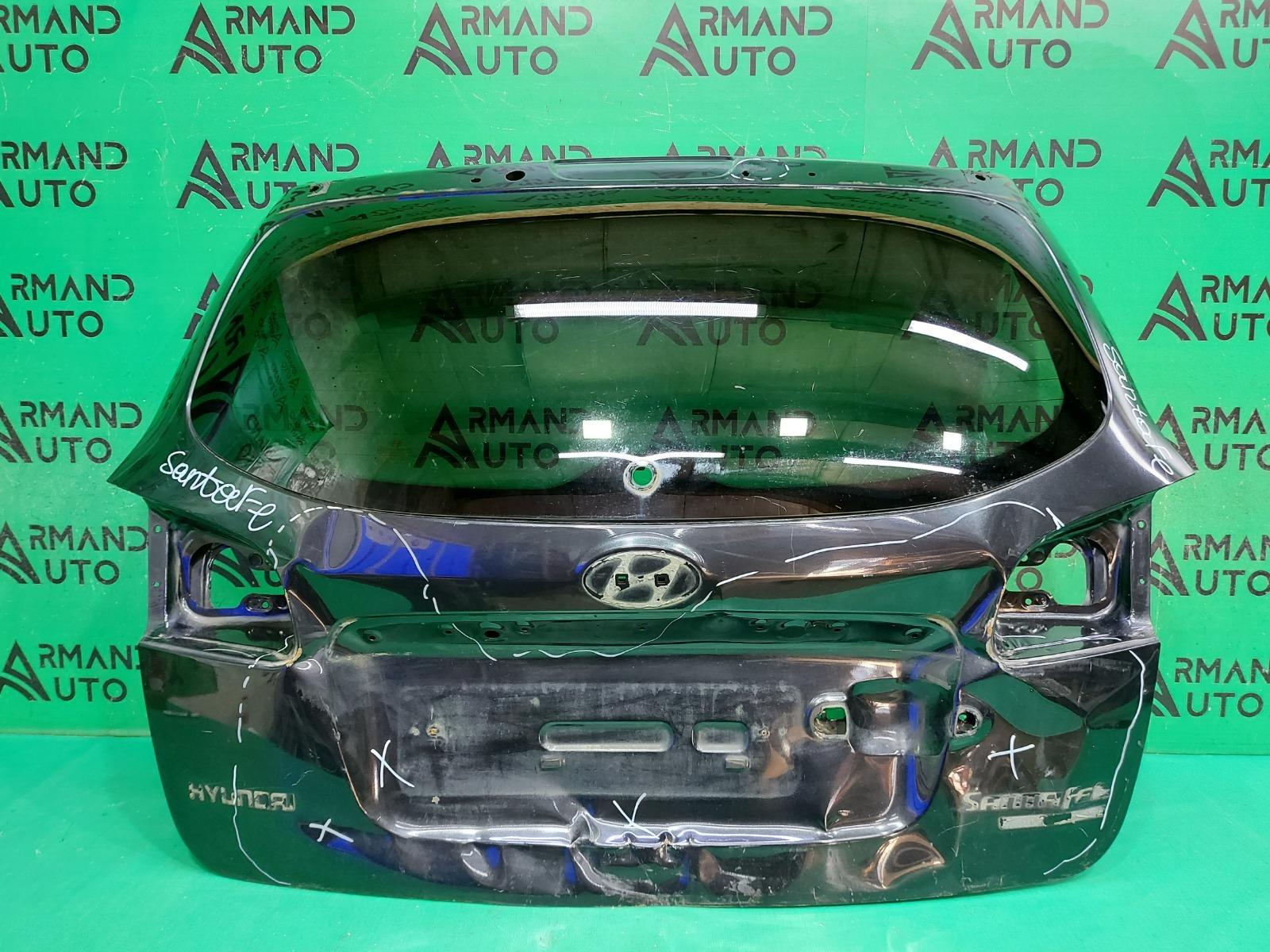 Дверь багажника Hyundai Santa Fe 2 2005 (б/у)