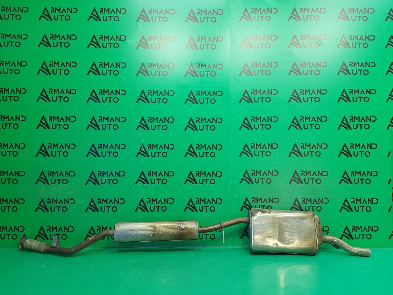 Глушитель Renault Duster 1 2010 (б/у)