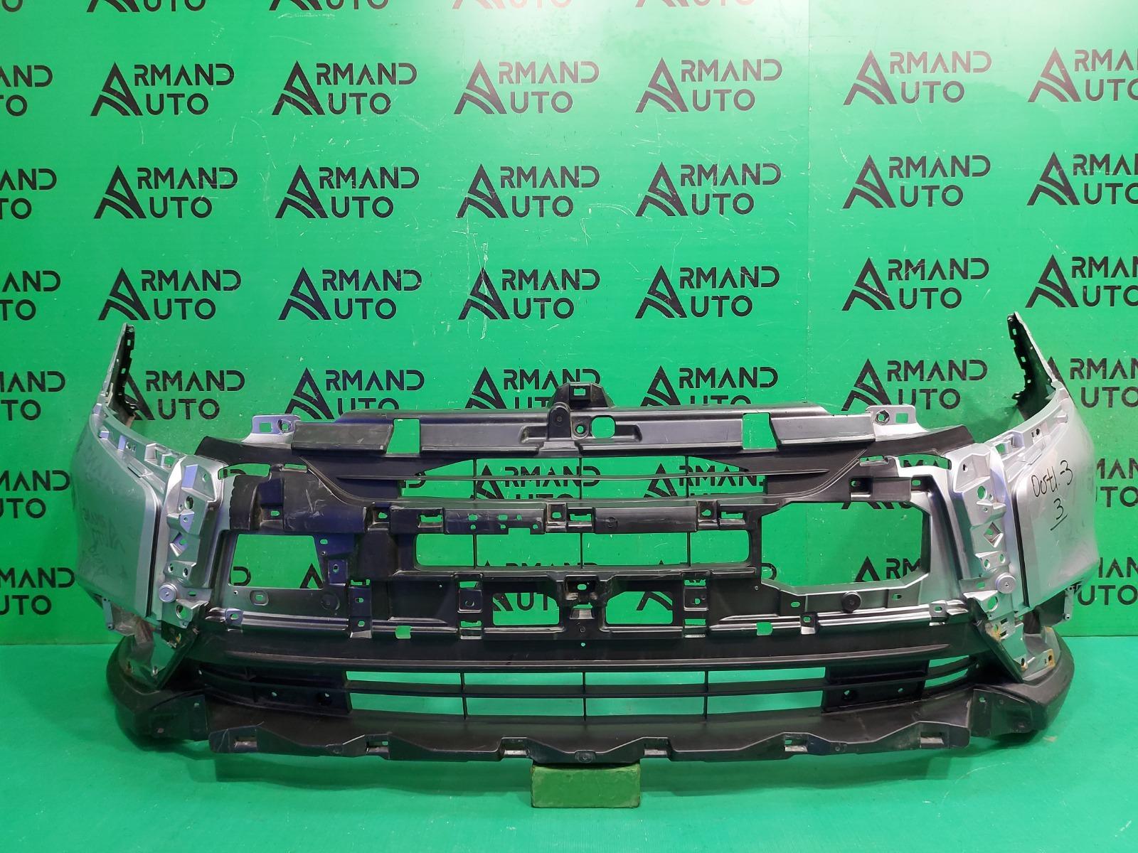 Бампер Mitsubishi Outlander 3 РЕСТАЙЛИНГ 2 2018 передний (б/у)