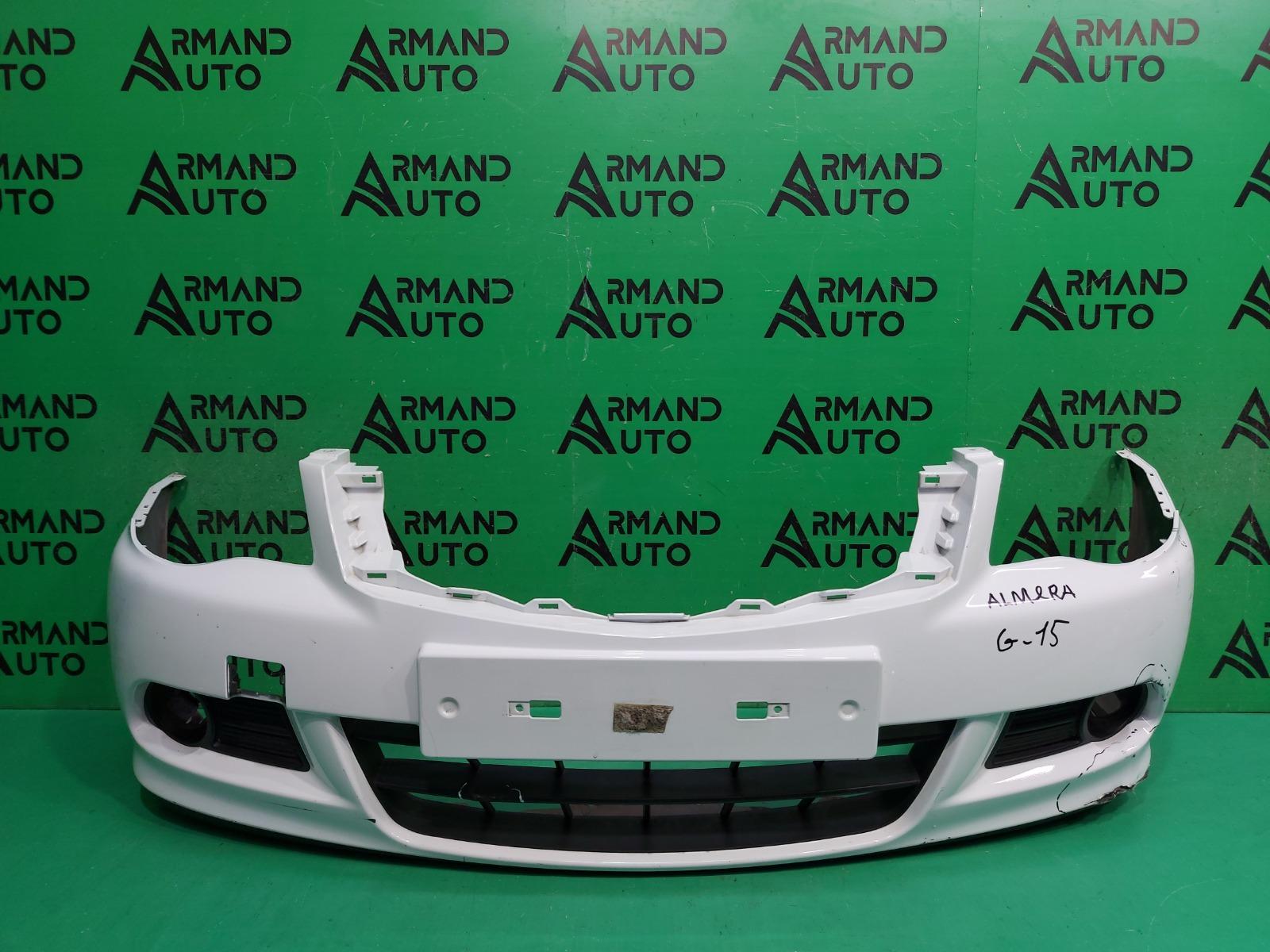 Бампер Nissan Almera G15 2012 передний (б/у)
