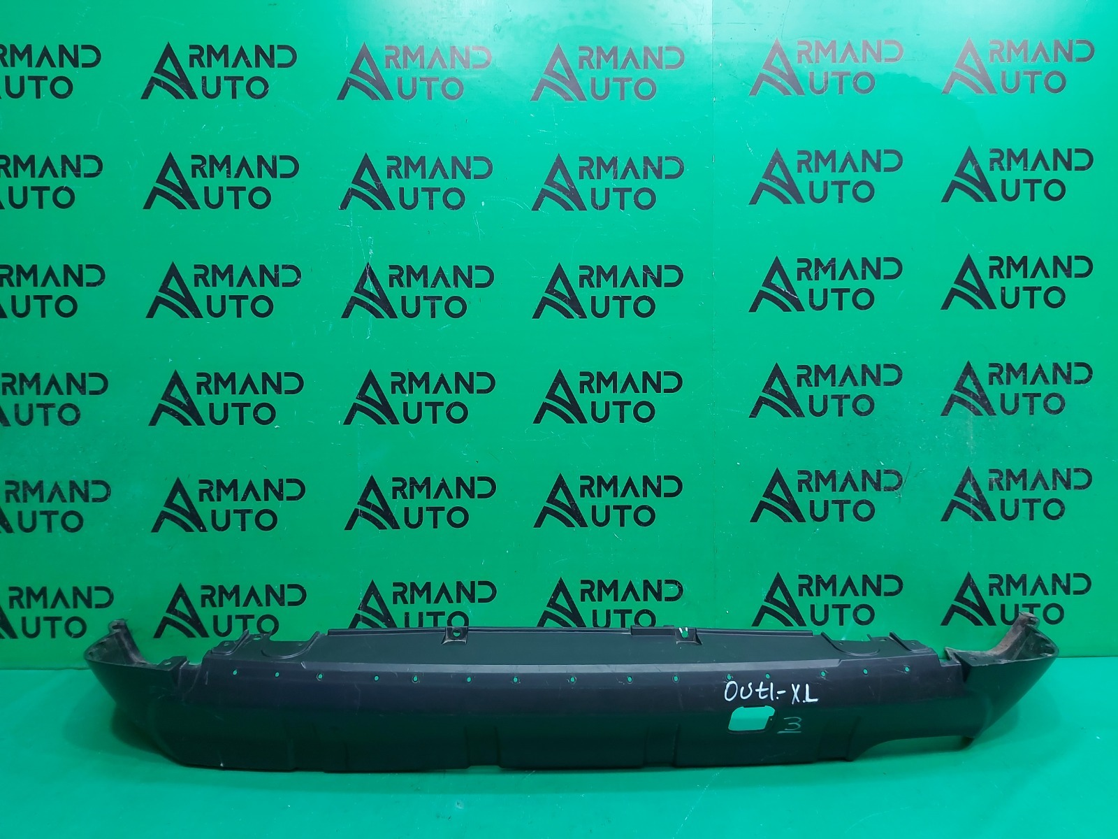 Юбка бампера Mitsubishi Outlander 2XL 2005 задняя (б/у)