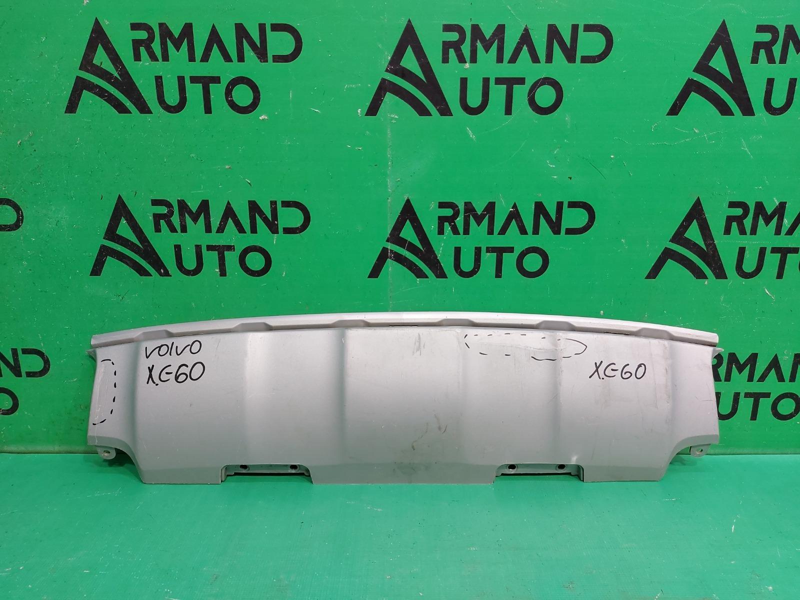 Накладка бампера Volvo Xc60 1 РЕСТАЙЛИНГ 2013 задняя (б/у)