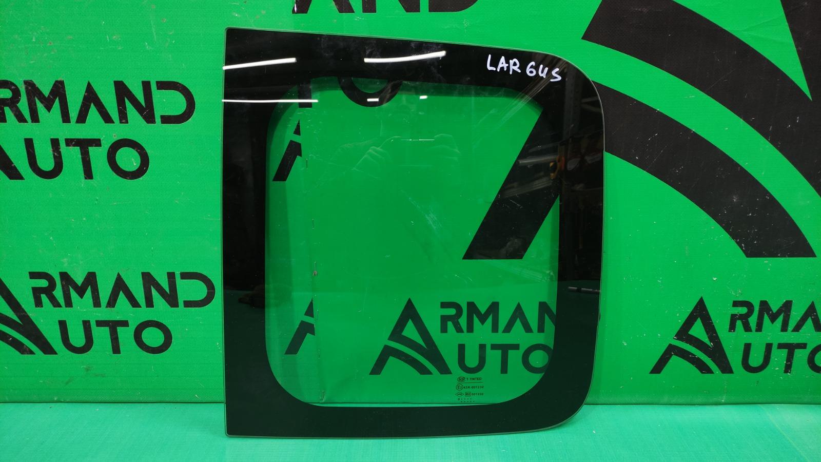 Стекло двери Lada Largus 1 2012 заднее правое (б/у)