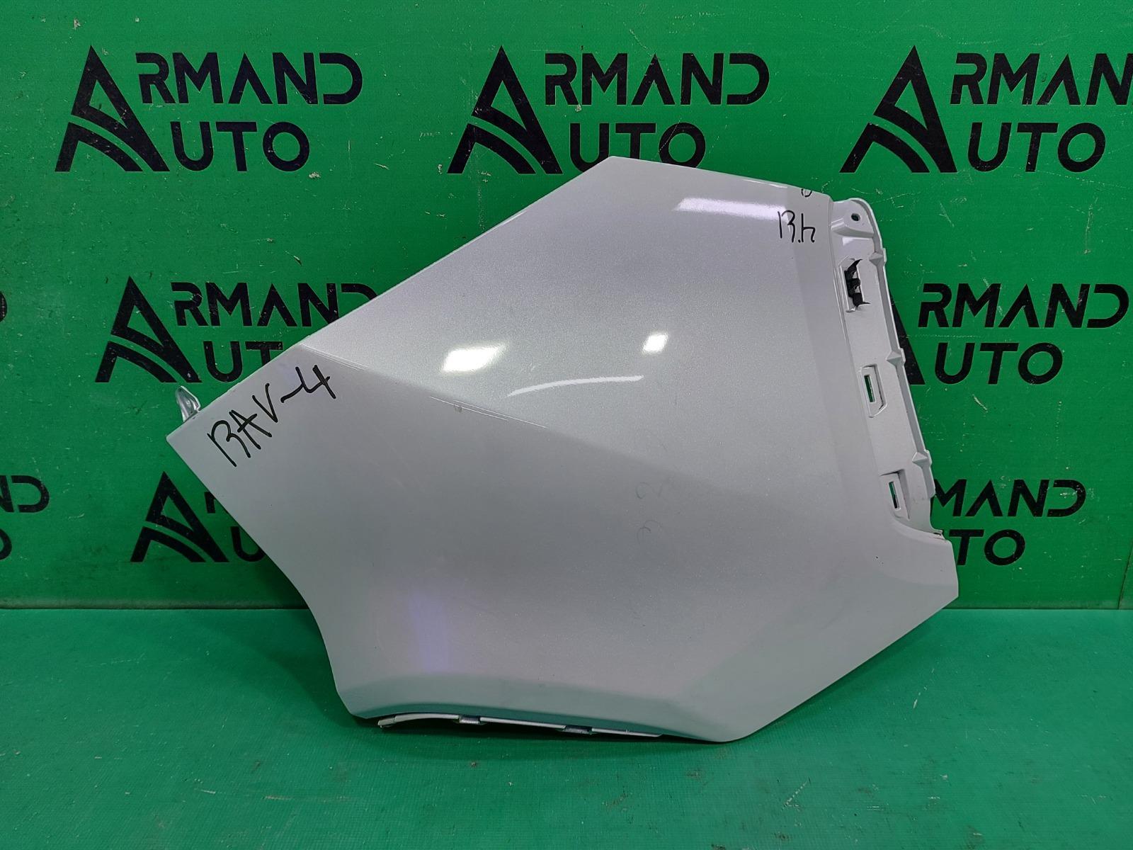 Накладка бампера Toyota Rav4 XA50 2018 задняя правая (б/у)
