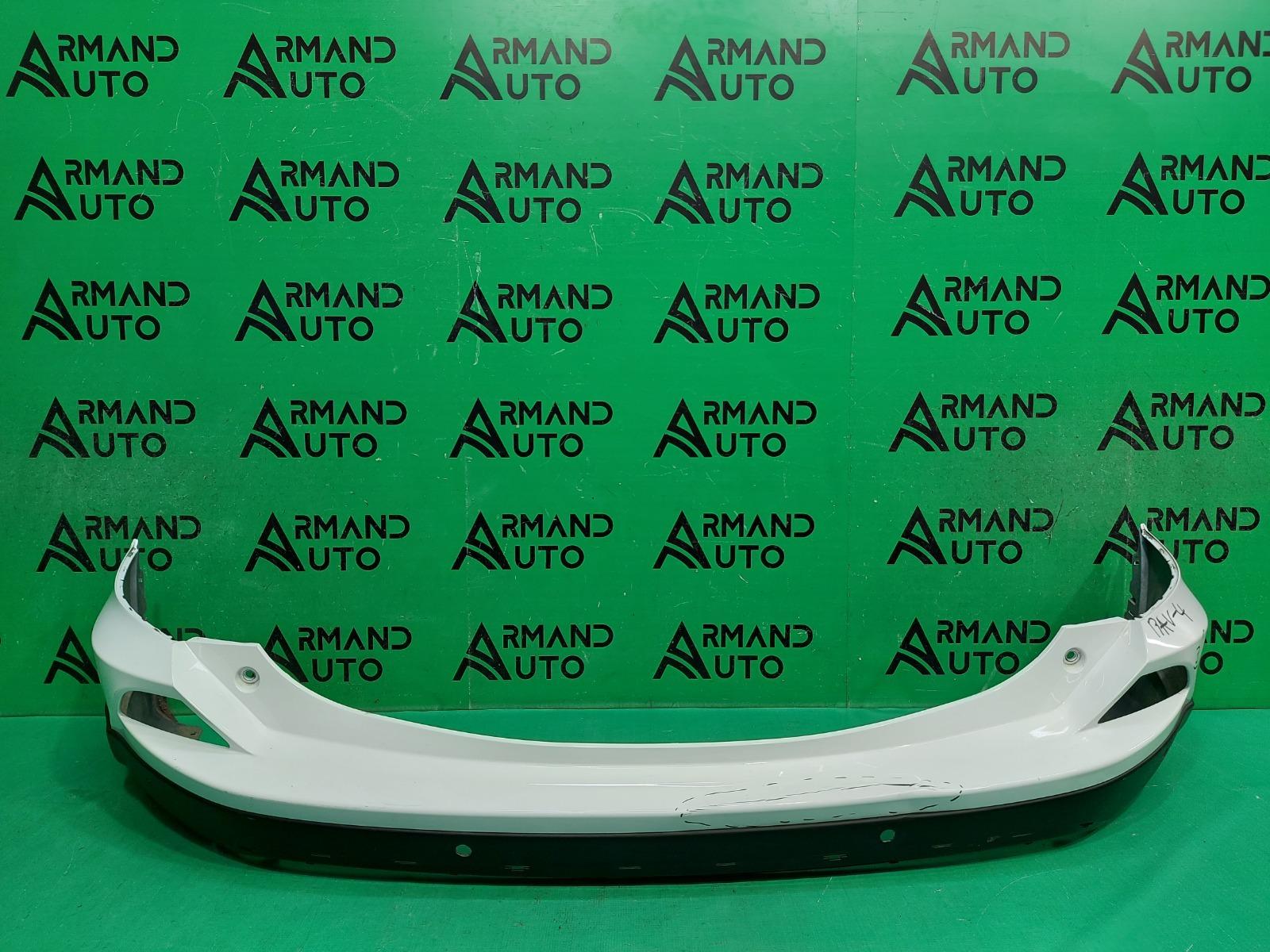 Бампер Toyota Rav4 CA40 РЕСТАЙЛИНГ 2015 задний (б/у)