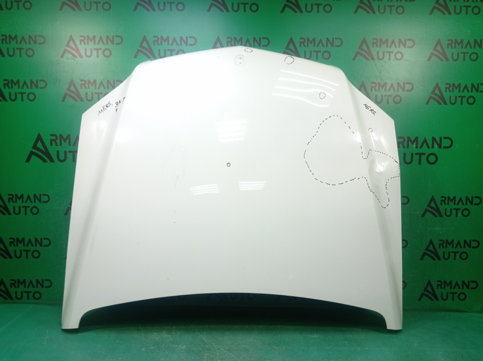 Капот Mercedes Glk-Class X204 2008 (б/у)