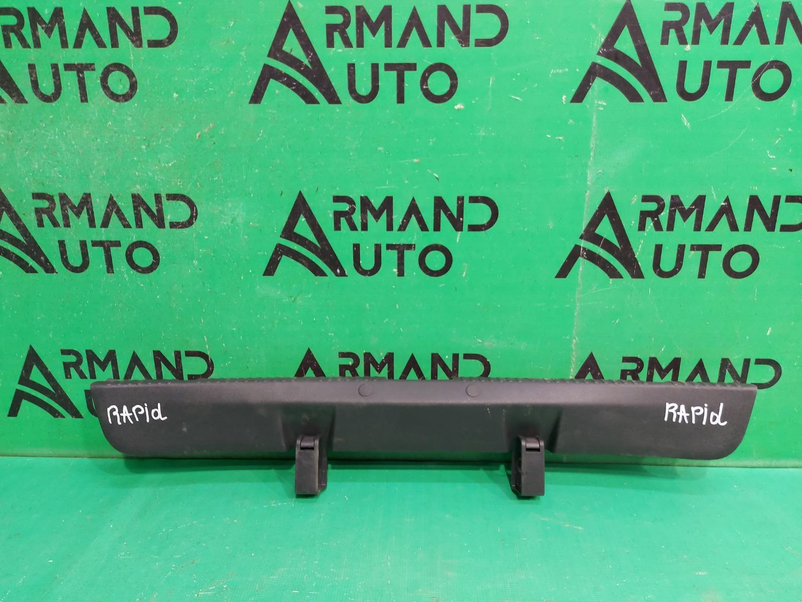 Накладка замка багажника Skoda Rapid 1 2012 (б/у)