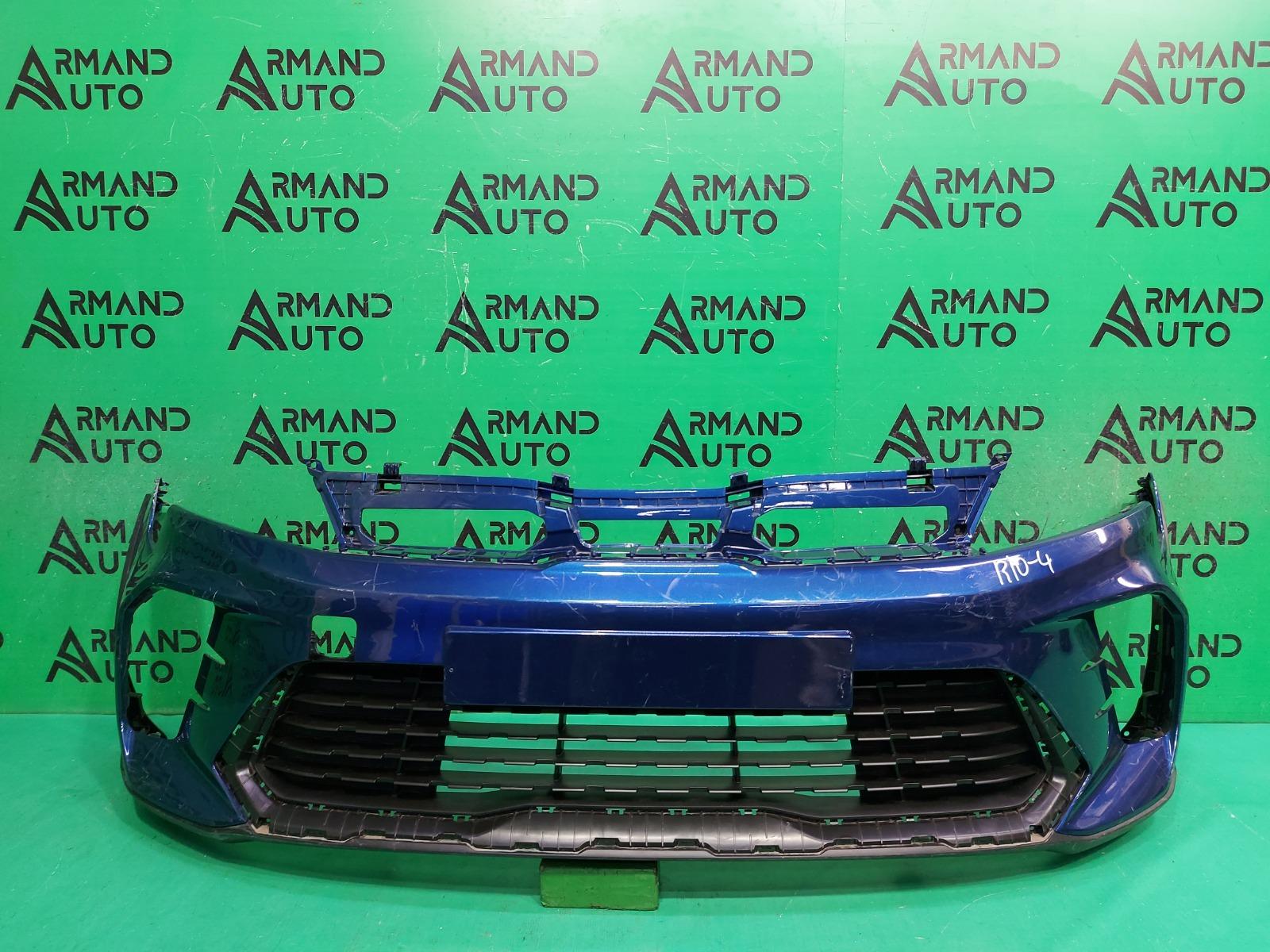 Бампер Kia Rio 4 X-LINE РЕСТАЙЛИНГ 2020 передний (б/у)