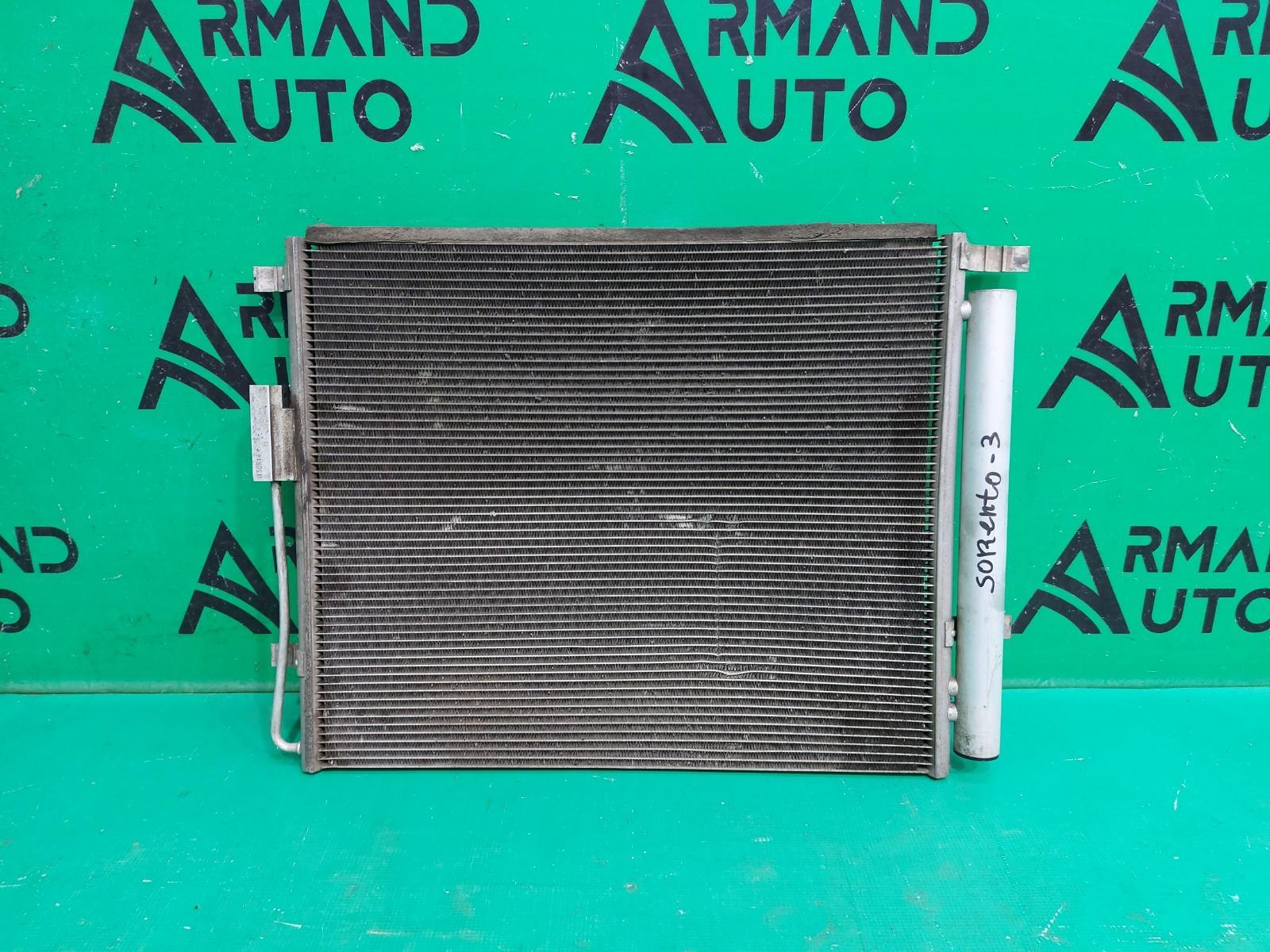 Радиатор кондиционера Hyundai Santa Fe 3 2015 (б/у)