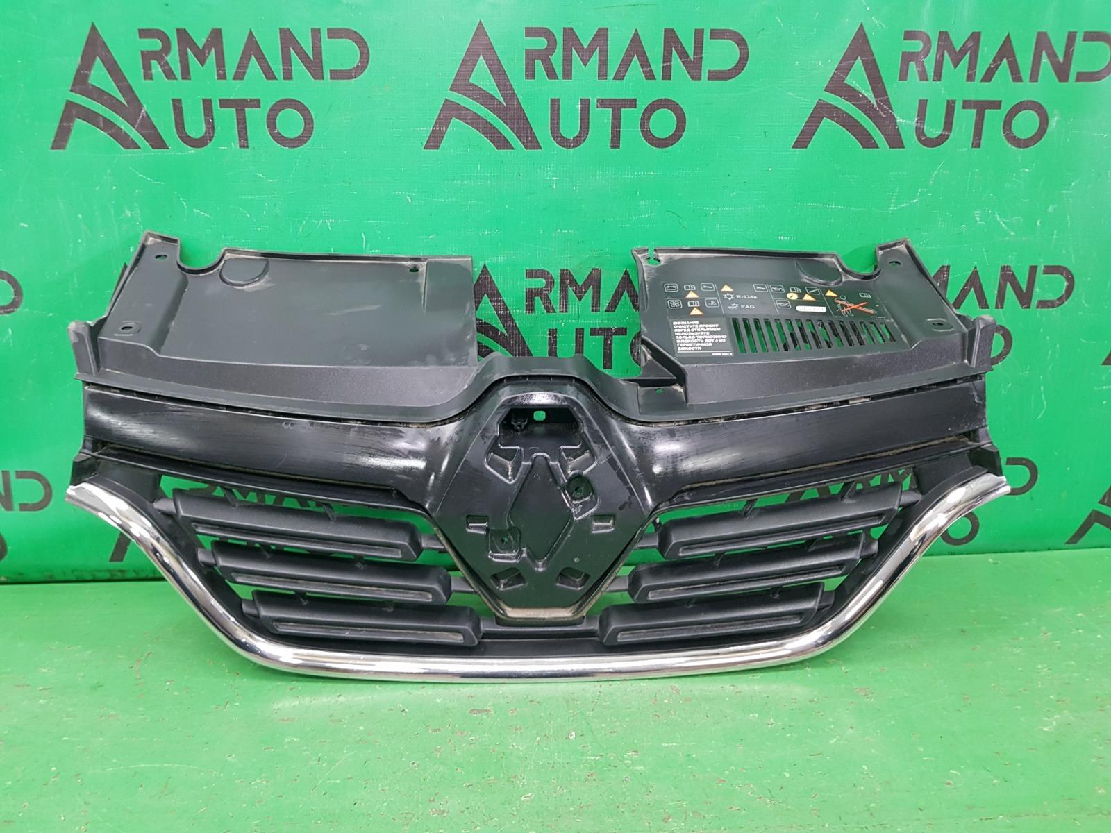 Решетка радиатора Renault Logan 2 РЕСТАЙЛИНГ 2018 (б/у)