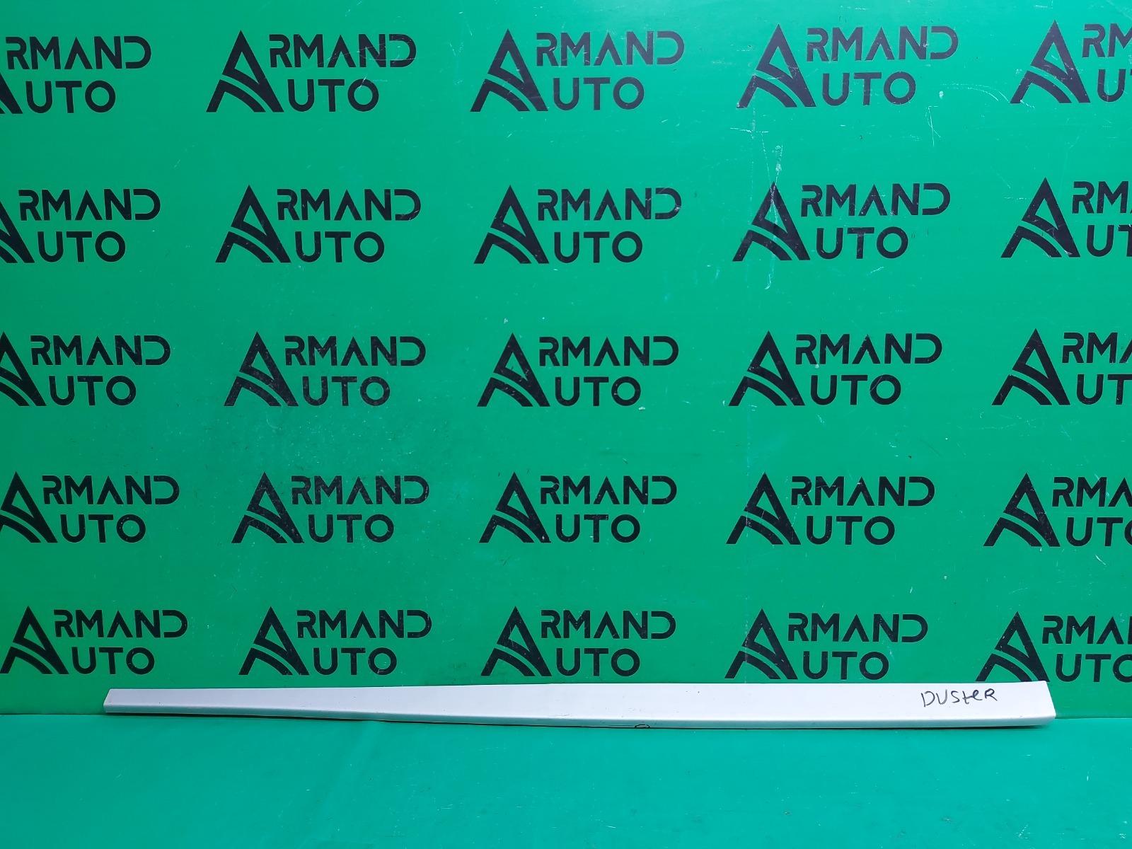 Накладка порога Renault Duster 1 2010 левая (б/у)