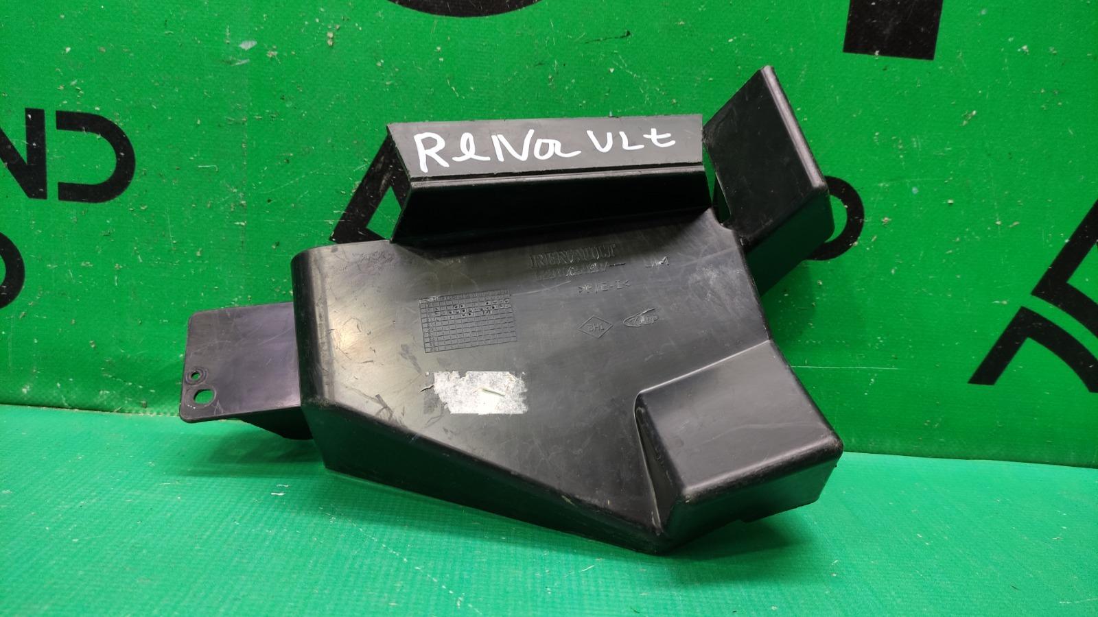 Дефлектор радиатора Renault Logan 2 РЕСТАЙЛИНГ 2018 левый (б/у)
