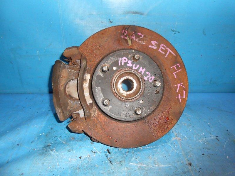 Диск тормозной Toyota Ipsum ACM21W передний левый (б/у)