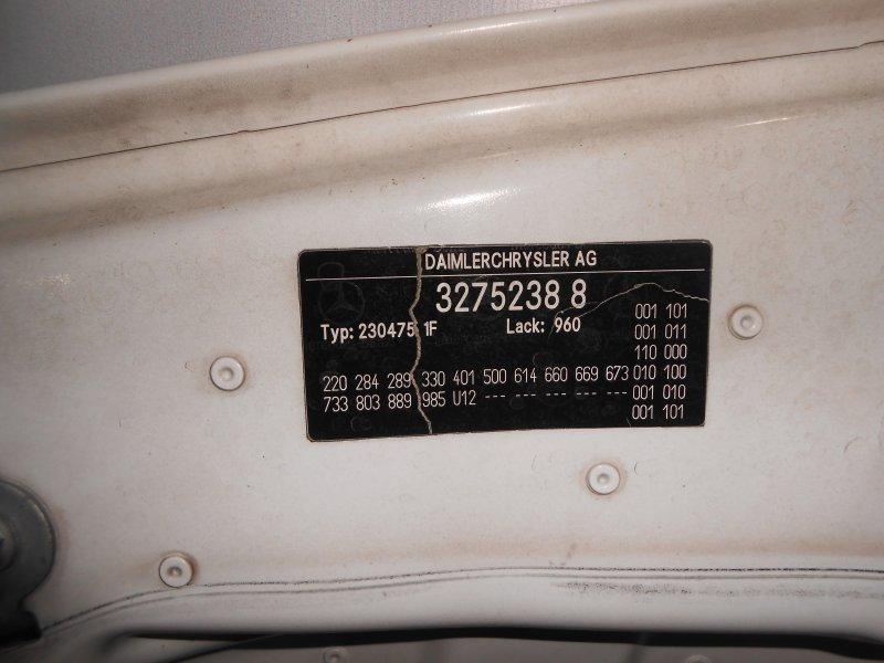 Капот Mercedes-Benz Sl-Class R230 2003 год (б/у)