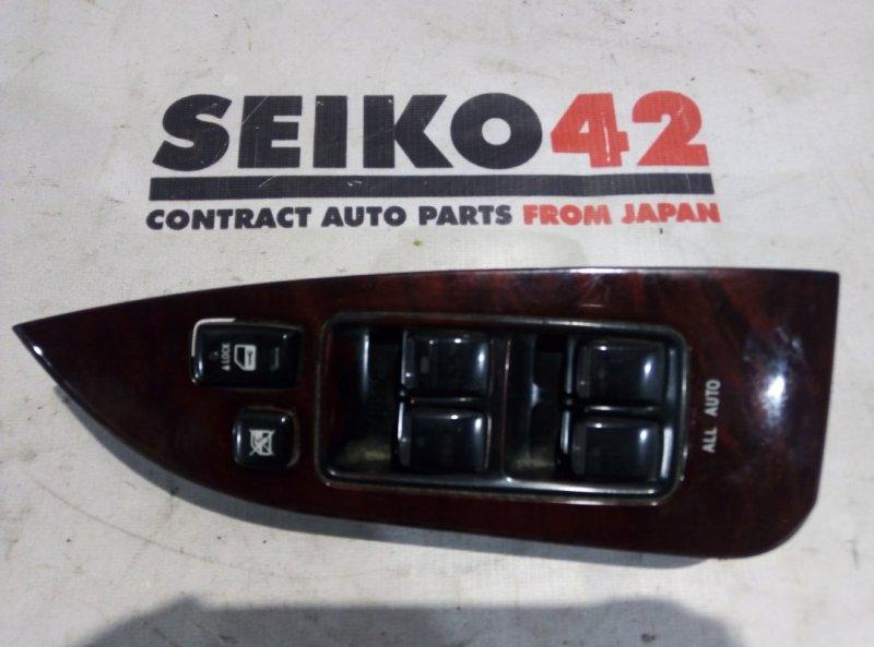 Блок управления стеклоподъемниками Toyota Mark X GRX120 передний правый (б/у)