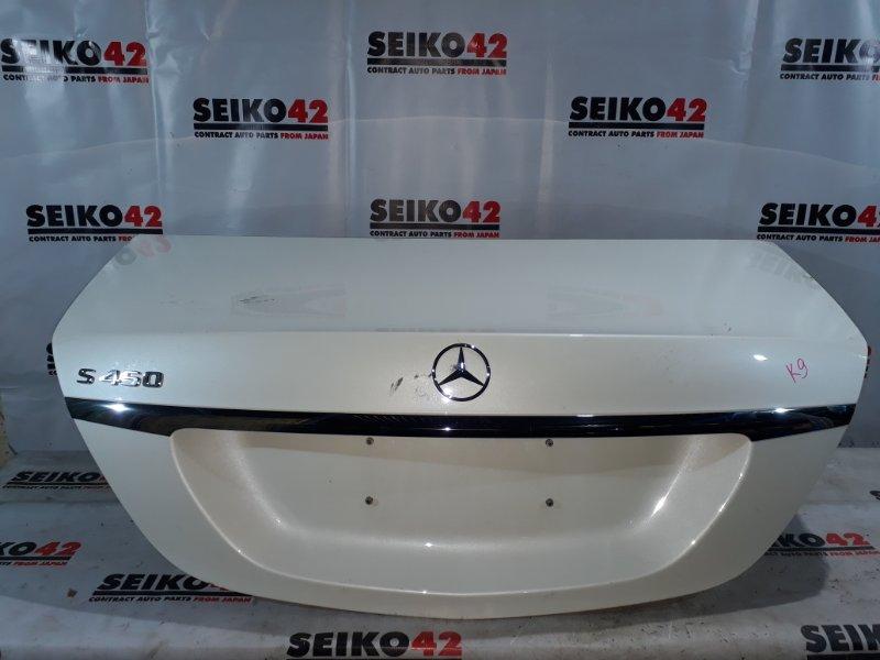 Крышка багажника Mercedes-Benz S-Class V222 (б/у)