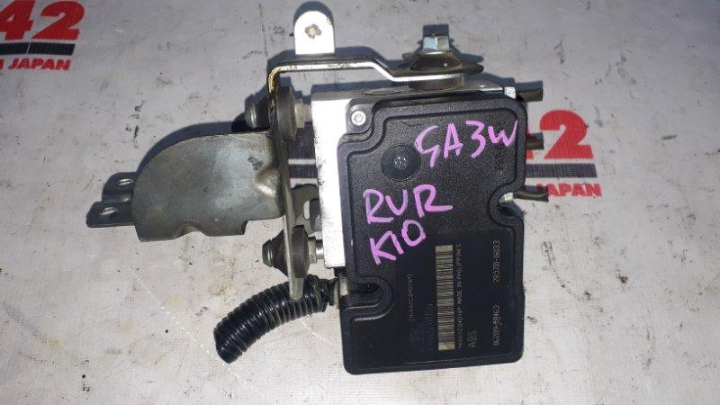 Блок abs Mitsubishi Asx GA3W 4B11 (б/у)