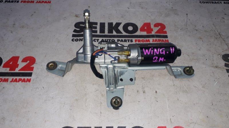 Мотор стеклоочистителя Nissan Wingroad WFY11 задний (б/у)