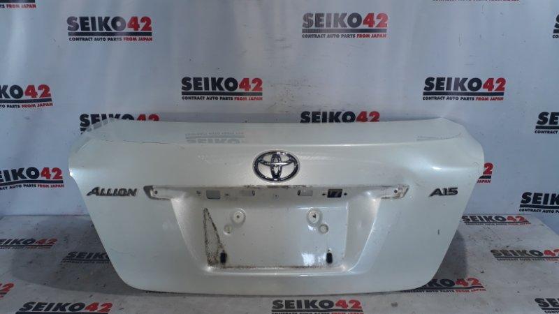 Крышка багажника Toyota Allion NZT260 задняя (б/у)
