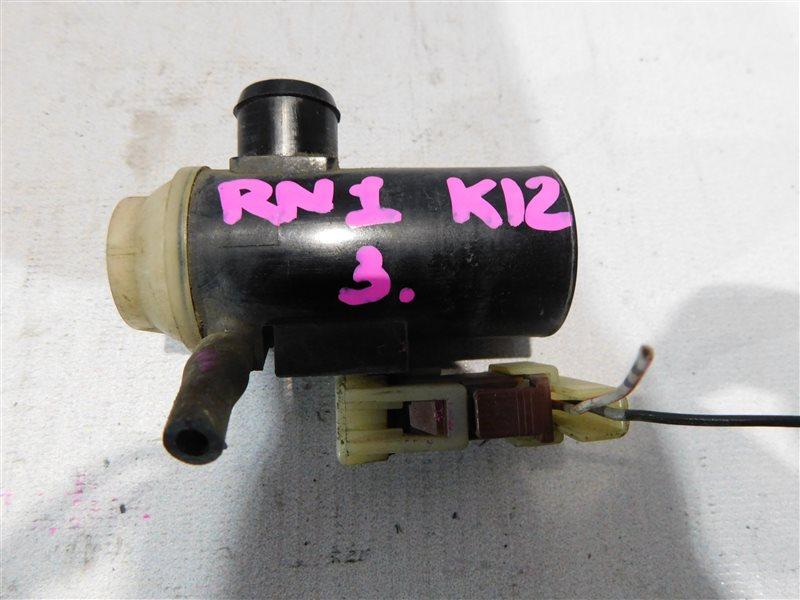 Мотор омывателя Honda Stream RN1 (б/у)