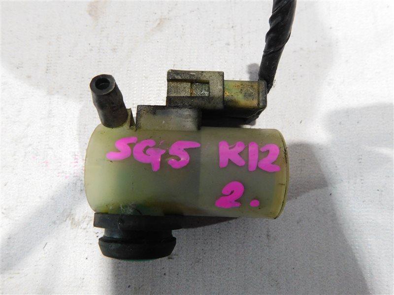 Мотор омывателя Subaru Forester SG5 (б/у)
