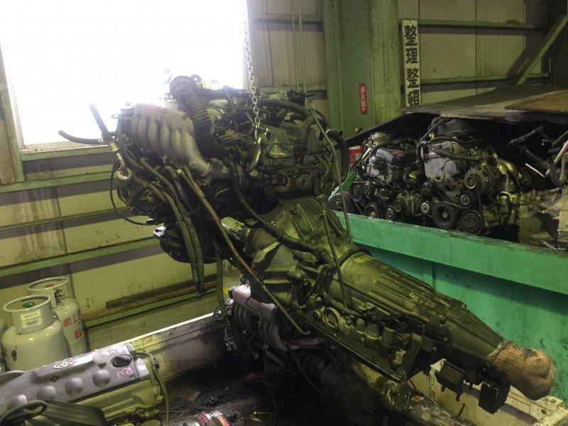 Двигатель Toyota Mark Ii JZX100 1JZ-GE (б/у)