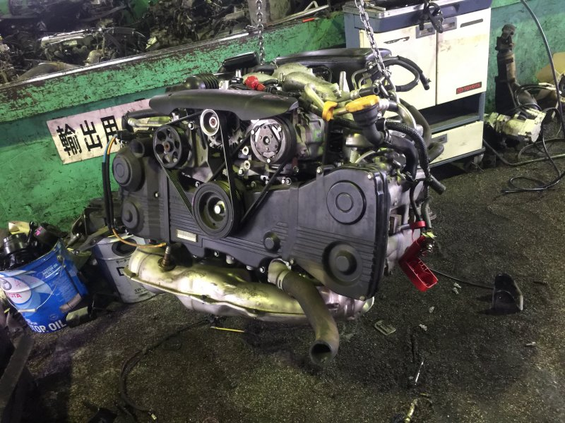 Двигатель Subaru Impreza GH2 EL154 (б/у)