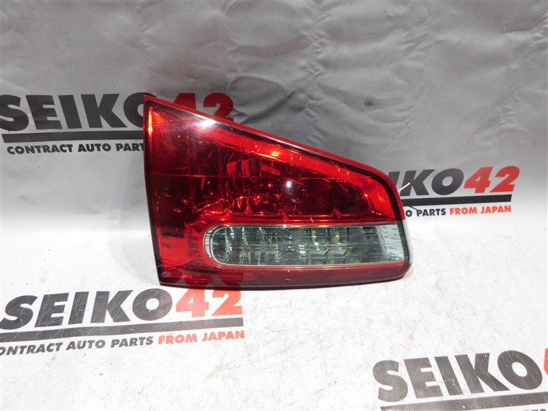 Вставка багажника Nissan Wingroad JY12 задняя левая (б/у)