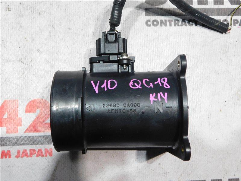 Датчик расхода воздуха Nissan Tino V10 QG18DE (б/у)