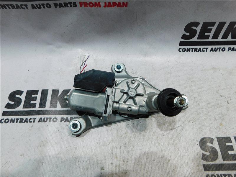Мотор стеклоочистителя Toyota Corolla Fielder NKE165 задний (б/у)