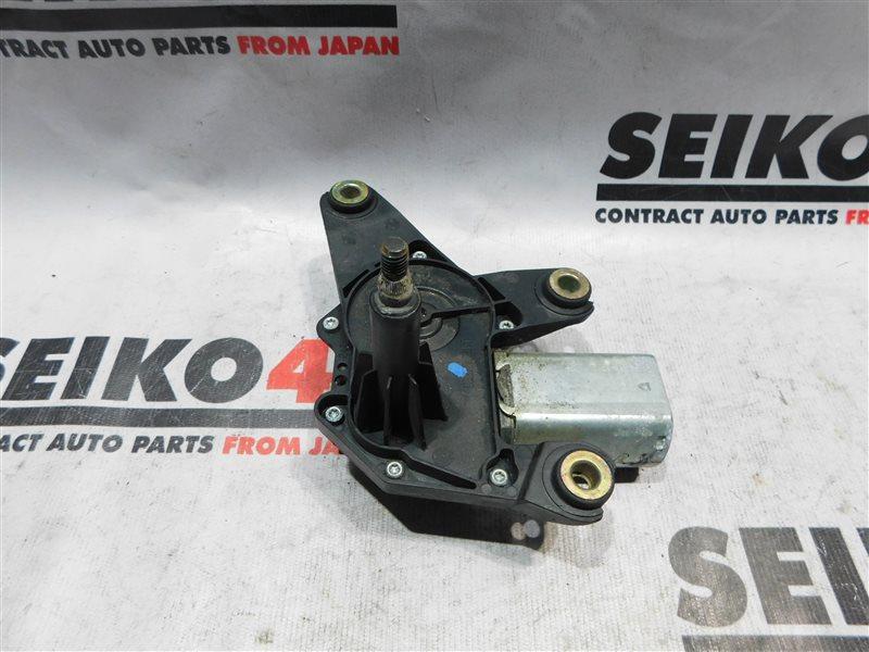 Мотор стеклоочистителя Nissan March AK12 задний (б/у)