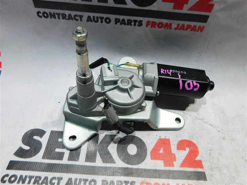 Мотор стеклоочистителя Honda Fit GD1 задний (б/у)