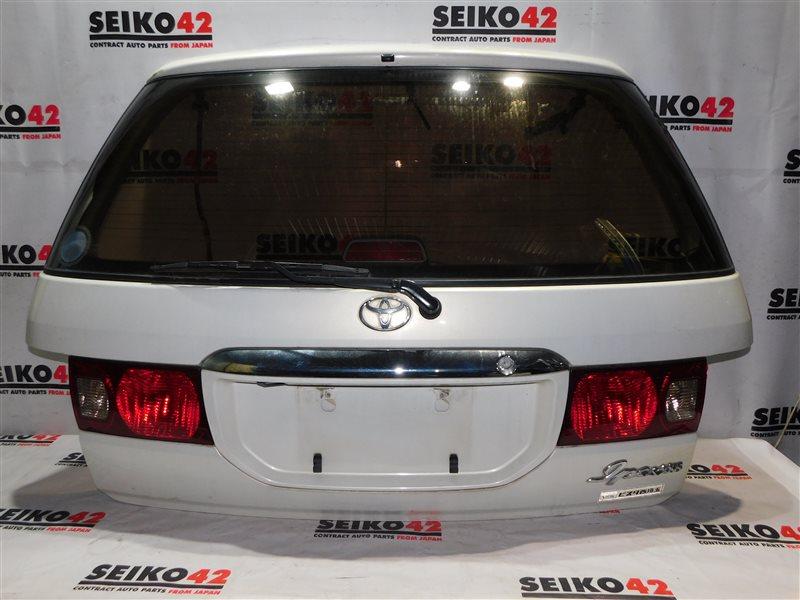 Дверь багажника Toyota Ipsum SXM10 задняя (б/у)