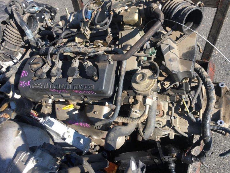 Двигатель Nissan Sunny FB15 QG15DE 1 модель (б/у)
