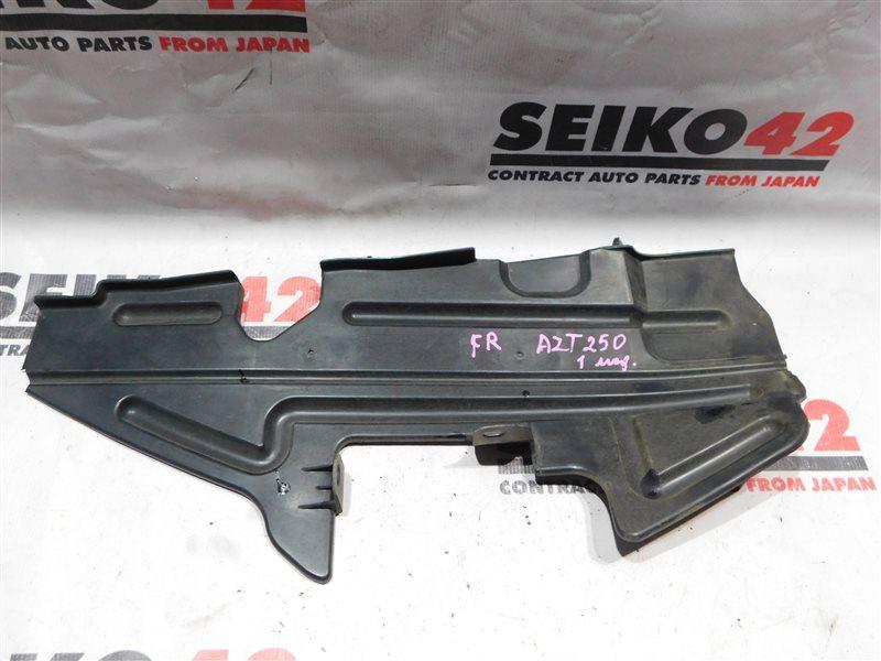 Защита радиатора Toyota Avensis AZT250 1 модель правая (б/у)
