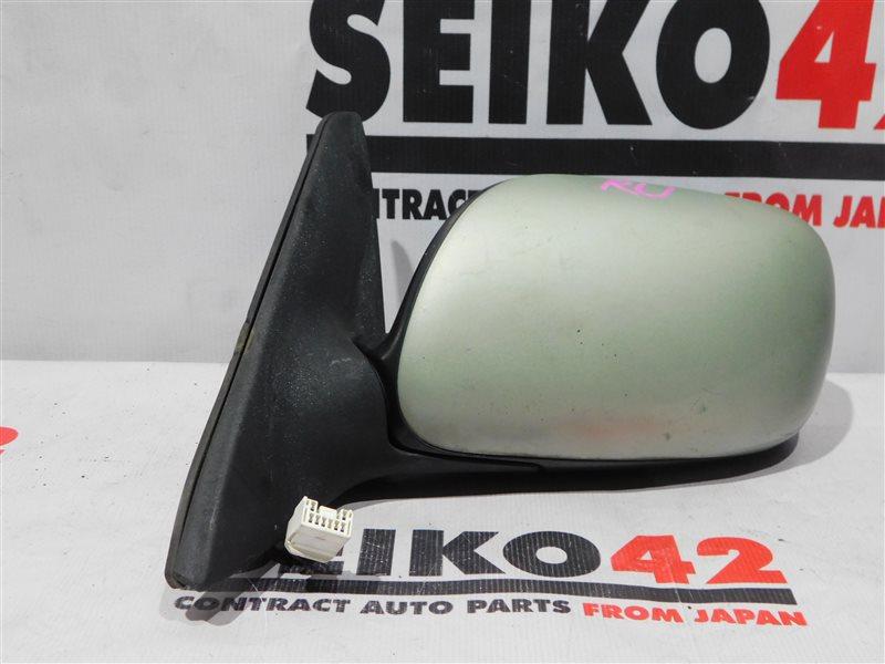 Зеркало Toyota Carina AT211 2 модель переднее левое (б/у)