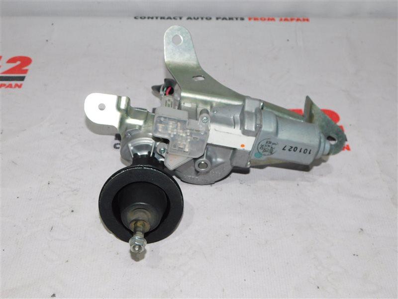Мотор стеклоочистителя Nissan March K13 задний (б/у)