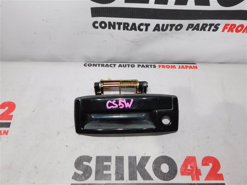 Ручка двери внешняя Mitsubishi Lancer Cedia Wagon CS5W задняя (б/у)