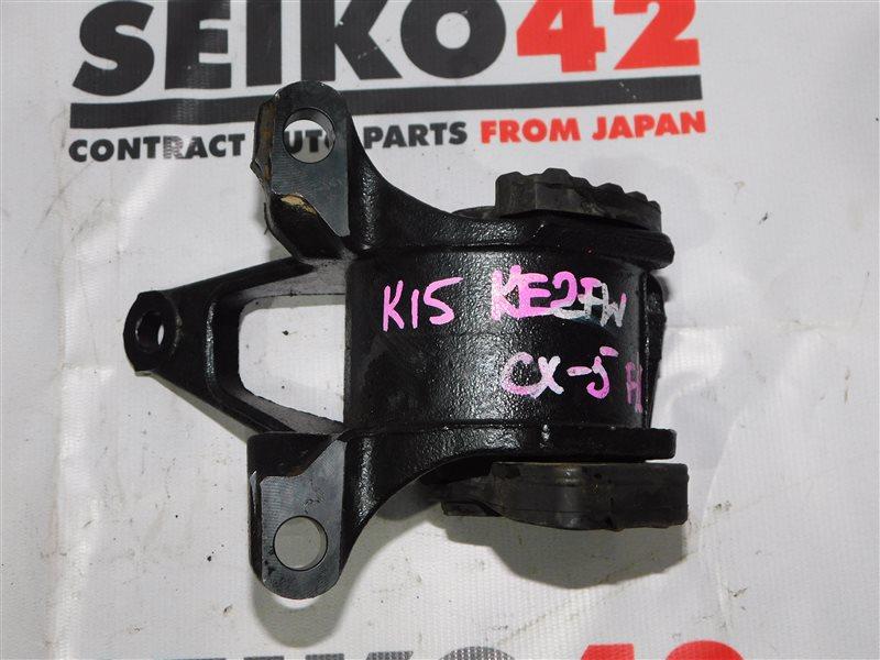 Подушка двигателя Mazda Cx-5 KE2FW передняя левая (б/у)