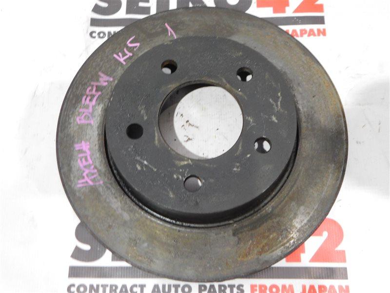 Диск тормозной Mazda Axela BL5FW задний левый (б/у)