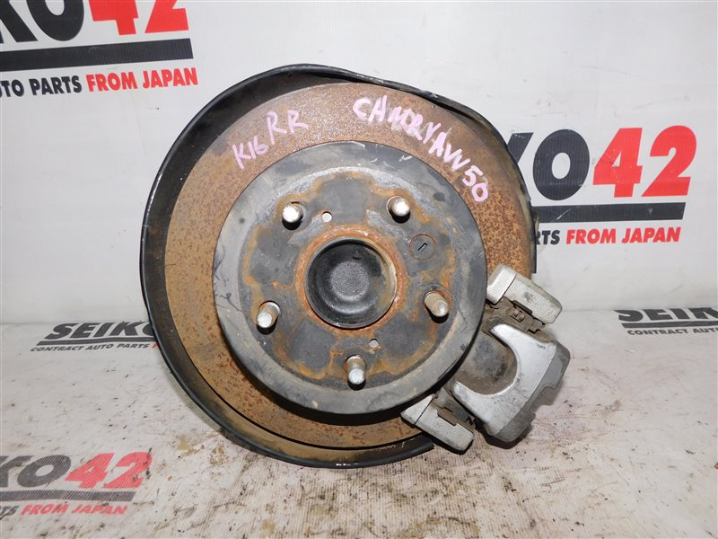 Диск тормозной Toyota Camry AVV50 задний правый (б/у)