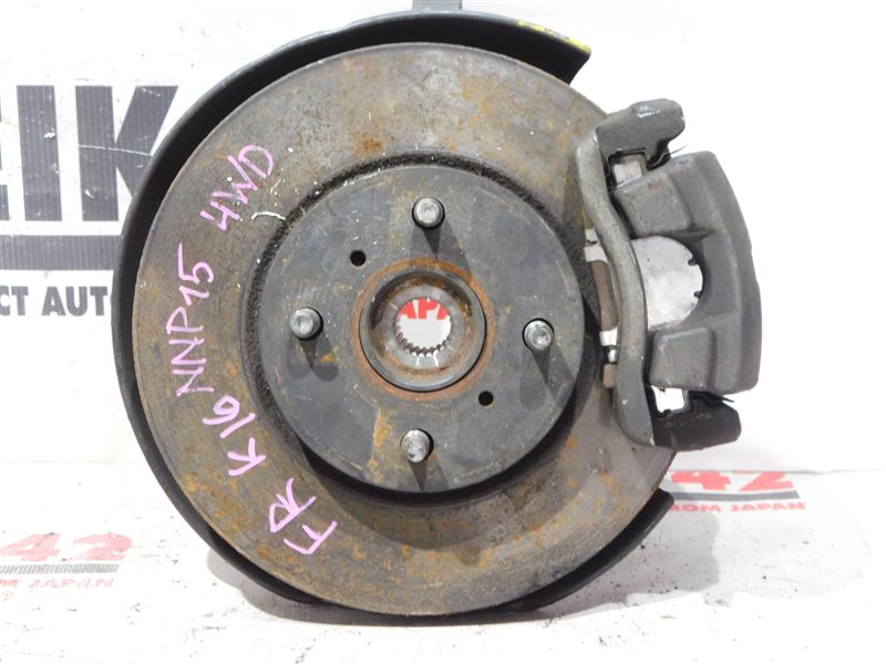Диск тормозной Toyota Porte NNP15 передний правый (б/у)