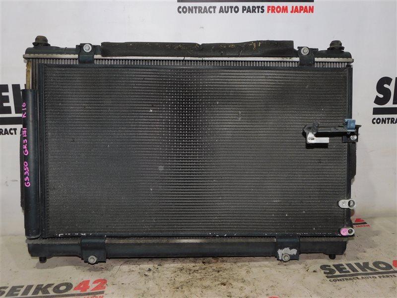 Радиатор охлаждения двигателя Lexus Gs350 GRS191 (б/у)
