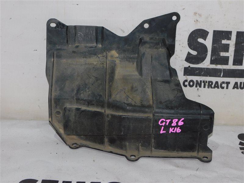 Защита радиатора Toyota Gt 86 ZN6 передняя левая (б/у)