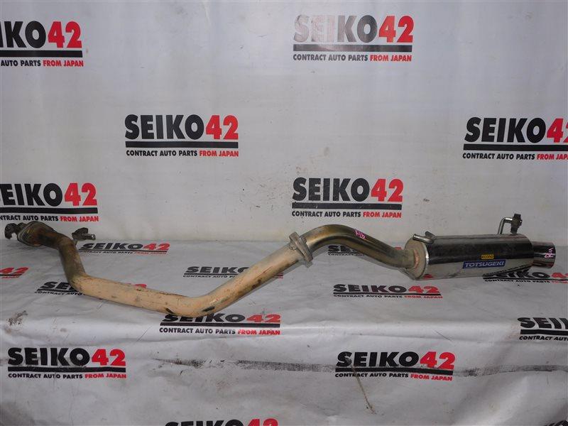 Выхлопная труба Suzuki Jimny JB43W (б/у)