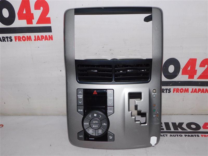 Блок управления климат контролем Toyota Voxy ZZR70 (б/у)