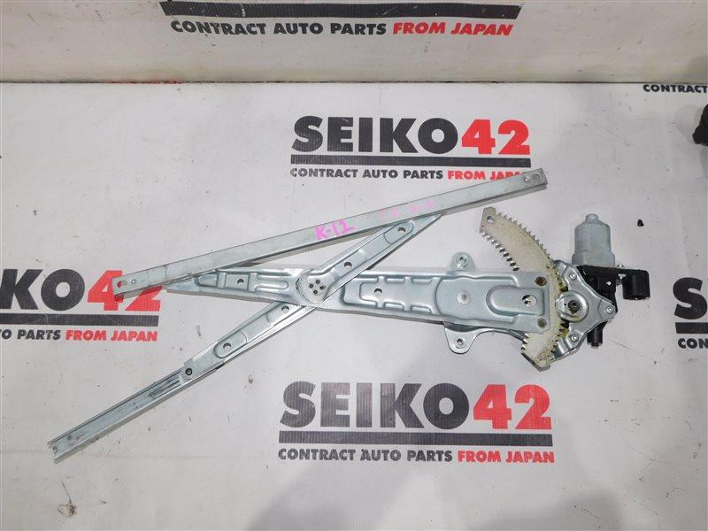 Мотор стеклоподъемника Nissan March AK12 передний правый (б/у)