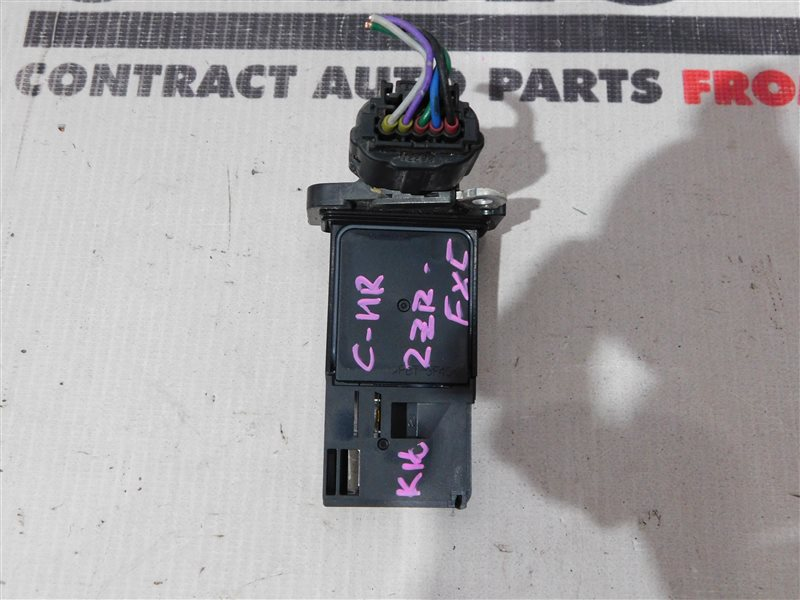 Датчик расхода воздуха Toyota C-Hr ZYX10 2ZR-FXE (б/у)