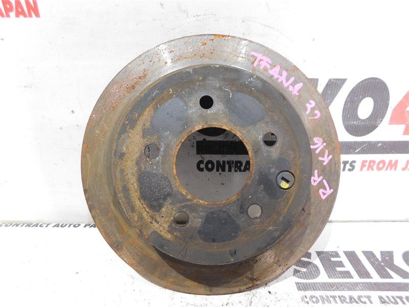 Диск тормозной Nissan Teana J32 задний правый (б/у)